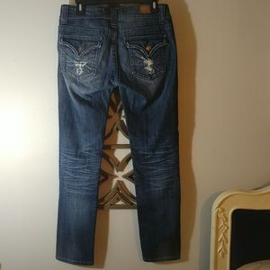 Vigoss Jeans - VIGOSS Collection Distressed New York Skinny Jeans